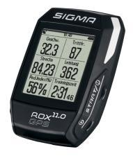 Ciclocomputer Sigma Rox GPS 11.0 Set Nero