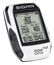 Ciclocomputer Sigma Rox GPS 7.0 Bianco