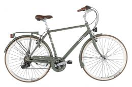 City Bike Alpina Freetime 28 Uomo 7V Militare