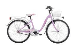 City Bike Bambina Montana Bloomy 24 1V con portapacchi