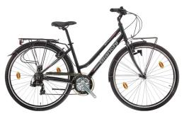 City Bike Bianchi Spillo Onice Donna 24V Nero Lucido