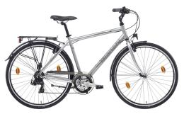 City Bike Bianchi Spillo Rubino Uomo 21V Argento Nero