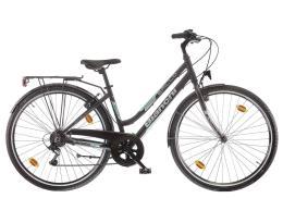 City Bike Bianchi Spillo Turchese DS Donna 6V Nero CK16