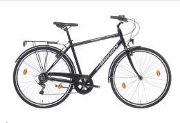 City Bike Bianchi Spillo Turchese DS Gent Uomo 6V Nero Lucido