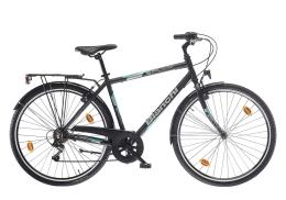 City Bike Bianchi Spillo Turchese DS Uomo 6V Nero CK16