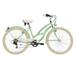 City Bike Cicli Adriatica Cruiser Lady 26 6V TY21 Verde
