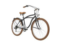 City Bike Cicli Adriatica Cruiser Uomo 26 6V TY21 Nero