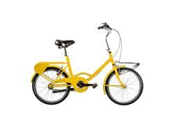 City Bike Cicli Casadei Cantiere 20 1V Giallo