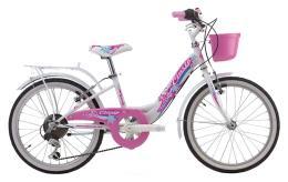 City Bike Cinzia Candy 20 6V Bianco