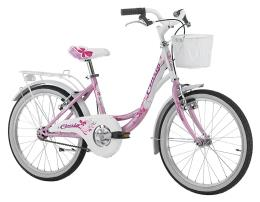 City Bike Cinzia Liberty 20 1V Rosa Perla Bianco