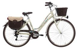 City Bike Cinzia Ravello 28 Donna 7V Crema