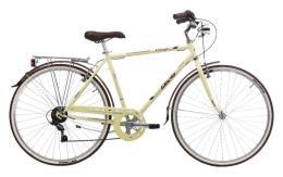City Bike Cinzia Village Paseo 28 Uomo 6V Crema