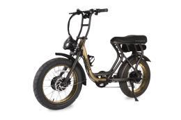 City Bike Elettrica Argento Madmax 20x4.0 Nero