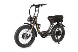 City Bike Elettrica Argento Madmax S 20x4.0 Nero