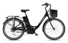 City Bike Elettrica Armony Firenze 24 6V Nero