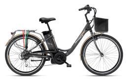 City Bike Elettrica Armony Firenze 26 6V Grigio
