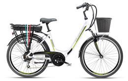 City Bike Elettrica Armony Firenze ADV 26 6V Bianco
