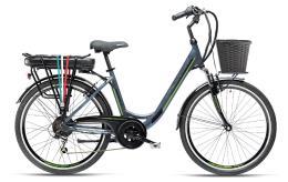 City Bike Elettrica Armony Firenze ADV 26 6V Blu Profondo