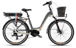 City Bike Elettrica Armony Jesolo 28 7V Grigio Betulla Grigio