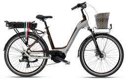 City Bike Elettrica Armony Jesolo 28 7V Grigio Marrone