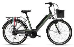 City Bike Elettrica Armony Venezia 26 7V Nero Grigio