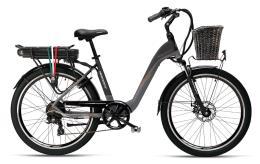 City Bike Elettrica Armony Verona Evo 26 7V Fumo Londra