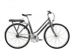 City Bike Elettrica Bianchi E-Spillo Classic Lady 7v Grigio