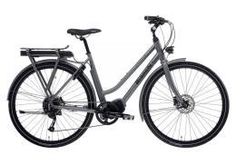 City Bike Elettrica Bianchi E-Spillo Luxury 28 Lady 9V Grigio