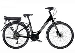 City Bike Elettrica Bianchi Long Island 28 9V Donna Nera