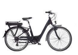 City Bike Elettrica Bianchi Puch E-Ray Lady 28 8V Nero