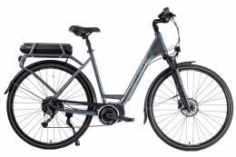 City Bike Elettrica Brinke Elysse 2 Unisex Alivio Grigio