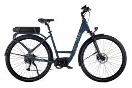 City Bike Elettrica Brinke Elysse Evo E6100 9V Blu