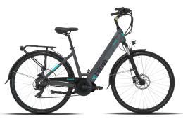 City Bike Elettrica Brinke Florence 26 8V Dapu Grigio