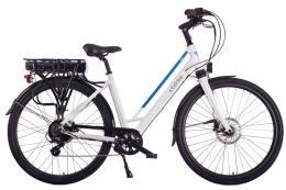 City Bike Elettrica Brinke Life Comfort 28 7V Bafang Bianco