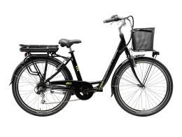 City Bike Elettrica Cicli Adriatica E2 26 Donna 6V Nero