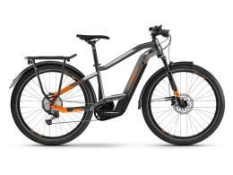 City Bike Elettrica Haibike Trekking 10 Titanio