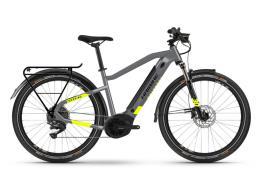 City Bike Elettrica Haibike Trekking 6 Grigio