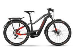 City Bike Elettrica Haibike Trekking 9 Lowstandover Antracite