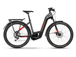 City Bike Elettrica Haibike Trekking 9 Lowstep Antracite