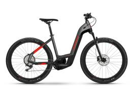 City Bike Elettrica Haibike Trekking Cross 9 Lowstep Antracite