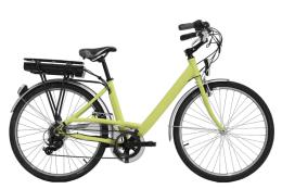 City Bike Elettrica Italwin Easy 26 Unisex 250W 12.8A 36V Verde