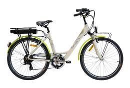 City Bike Elettrica Italwin Nuvola 24 8.7 Ah 36V Bianca