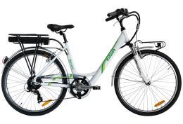 City Bike Elettrica Italwin Nuvola 26 11,6 Ah Crema