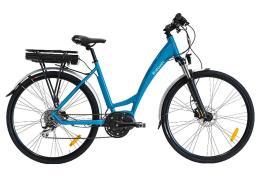 City Bike Elettrica Italwin Pearl 28 14Ah Azzurra