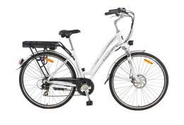 City Bike Elettrica Italwin Prestige Unisex 26 11.6A Bianco