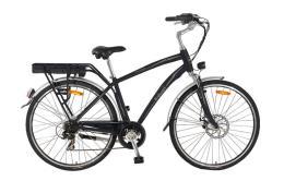 City Bike Elettrica Italwin Prestige Uomo 28 11.6Ah Nero