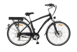 City Bike Elettrica Italwin Prestige Uomo 8.7Ah Nero