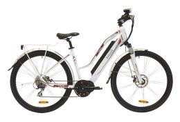 City Bike Elettrica Italwin Trail Advance Unisex 28 14Ah Bianco