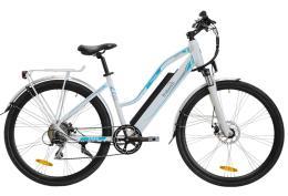 City Bike Elettrica Italwin Trail Ultra Unisex 28 14Ah Grigio