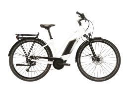City Bike Elettrica Lapierre Overvolt Trekking 6.4 Donna Alivio 9V